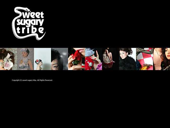 sweet sugary tribe Webサイト